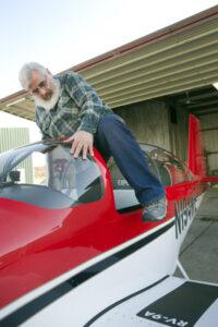 QC pilot, Michael Nightingale