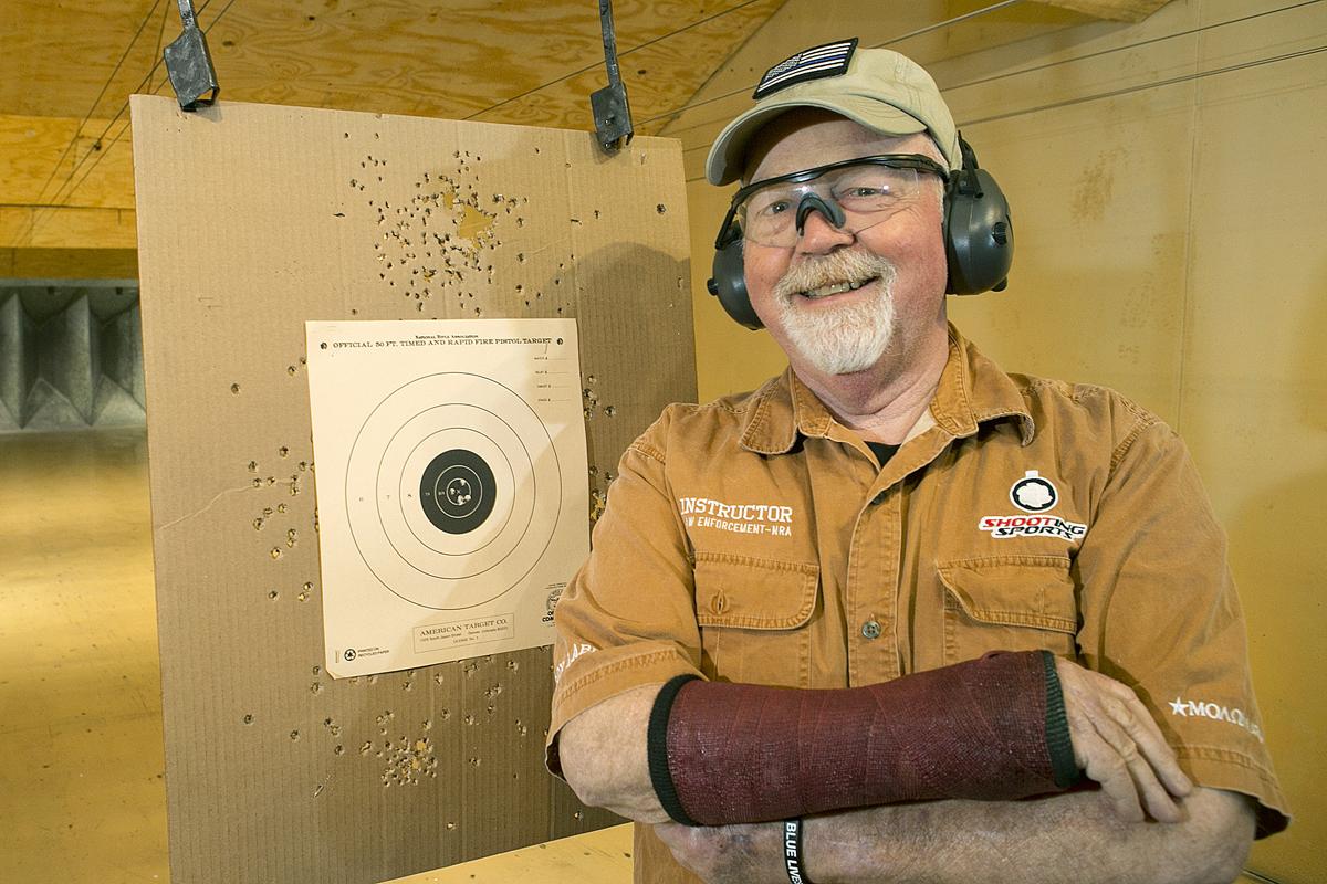 Retired Knox County Chief Deputy Sheriff, Mark Schumacher