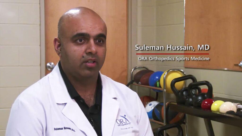 Dr. Suleman Hussain still